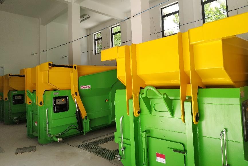 北京大学建成密闭式清洁站